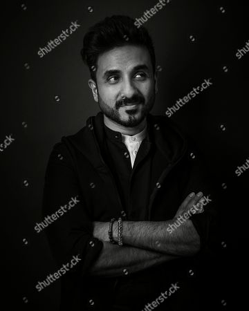 Stock Image of Vir Das poses for a portrait in New York
