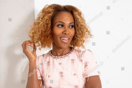 """DeWanda Wise from the Netflix series """"She's Gotta Have It"""" poses for a portrait, in New York"""