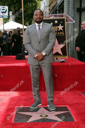 Stock Photo of F. Gary Gray honored with a Star on the Hollywood Walk of Fame