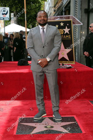 Stock Picture of F. Gary Gray honored with a Star on the Hollywood Walk of Fame