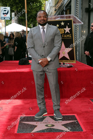 Editorial image of F. Gary Gray honored with a Star on the Hollywood Walk of Fame, Los Angeles, USA - 28 May 2019