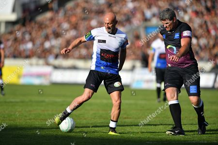 Editorial picture of Charity games of football and rugby, Stade Chaban-Delmas, Bordeaux, France - 27 May 2019