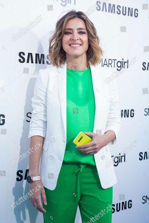 Stock Picture of Sandra Barneda