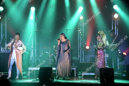 Editorial photo of Les Amazones d'Afrique in concert, Paris, France - 17 May 2019
