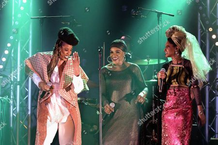 Editorial picture of Les Amazones d'Afrique in concert, Paris, France - 17 May 2019