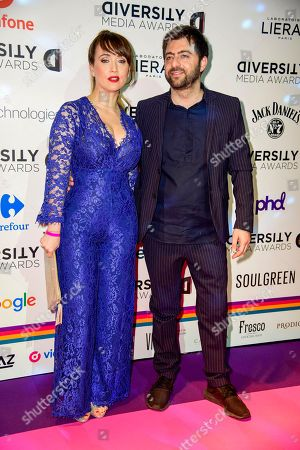 Editorial picture of Diversity Media Awards, Arrivals, Milan, Italy - 28 May 2019