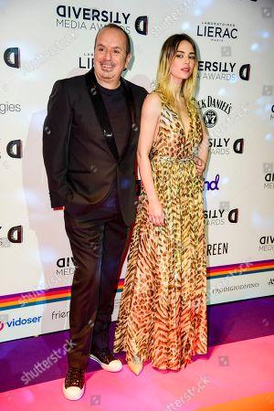 Stock Photo of Fabio Canino Melissa and Greta Marchetto