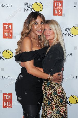 Cathy Guetta and Isabelle Camus