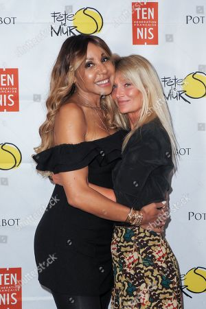 Stock Picture of Cathy Guetta and Isabelle Camus
