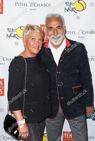 Mansour Bahrami and Frederique Bahrami
