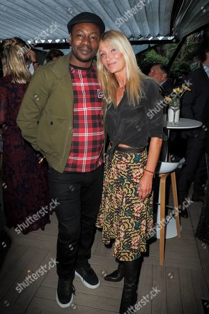 MC Solaar and Isabelle Camus