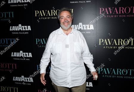 """Drew Nieporent attends a special screening of """"Pavarotti"""" at the iPic Theater, in New York"""