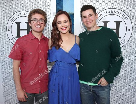 Sean Giambrone, Hayley Orrantia and Sam Lerner