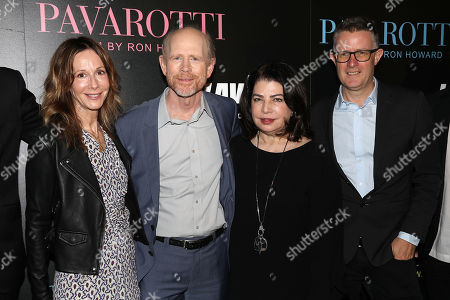 Jody Gershon, Ron Howard (Director), Michele Anthony and Dickon Stainer