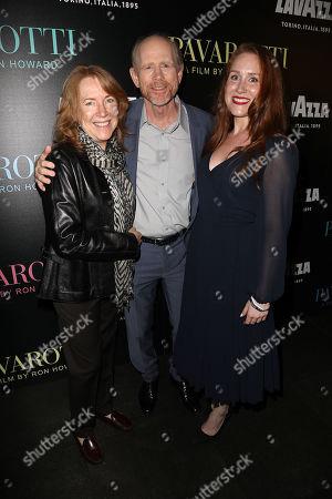 Cheryl Howard, Ron Howard (Director) and Paige Howard