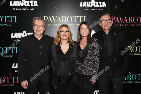 Nigel Sinclair (Producer), Nicoletta Mantovani, Jeanne Elfant Festa (Producer) and Paul Crowder (Film Editor)