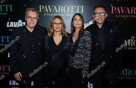 Nigel Sinclair, Nicoletta Mantovani, Jeanne Elfant Festa and Paul Crowder
