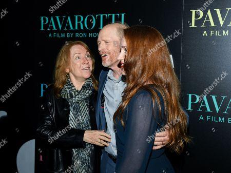 Cheryl Howard, Ron Howard and Paige Howard