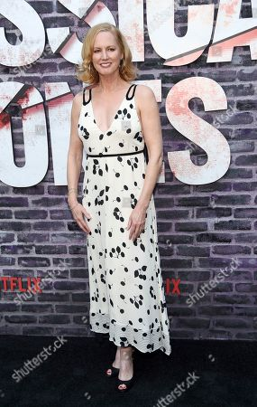 """Melissa Rosenberg, creator/executive producer of the Netflix series """"Marvel's Jessica Jones,"""" poses at a special screening of the show at the ArcLight Hollywood, in Los Angeles"""