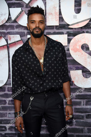"""Eka Darville, a cast member in the Netflix series """"Marvel's Jessica Jones,"""" poses at a special screening of the show at the ArcLight Hollywood, in Los Angeles"""