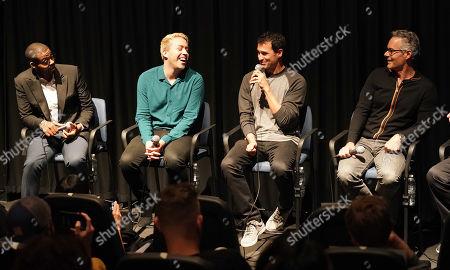 Kris Bowers, Brett McLaughlin, Ramin Djawadi and Marco Beltrami