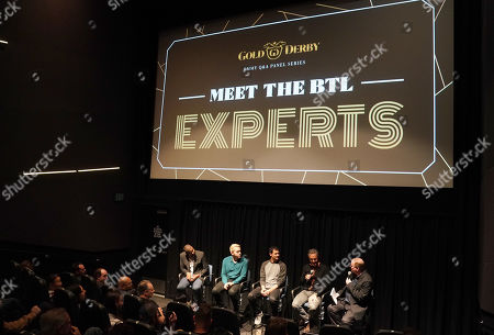 Editorial photo of Gold Derby Meet The Experts, Composers panel, Los Angeles, USA - 28 May 2019