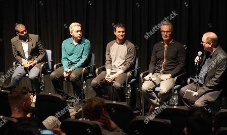 Kris Bowers, Brett McLaughlin, Ramin Djawadi, Marco Beltrami and Chris Beachum