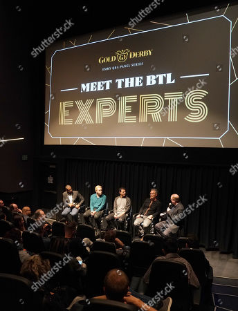 Editorial picture of Gold Derby Meet The Experts, Composers panel, Los Angeles, USA - 28 May 2019