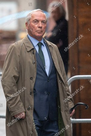 Former Austrian ski racer Karl Schranz arrives for a memorial service for Niki Lauda at Saint Stephen's Cathedral in Vienna, Austria, 29 May 2019. Austrian Formula One legend Niki Lauda died on 20 May 2019 at the age of 70. Lauda won the Formula One championship in 1975, 1977, and 1984 and founded three airlines.