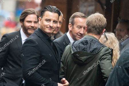 German actor Daniel Bruehl (L), Austrian singer Andreas Gabalier (L) and former German Formula One driver Nico Rosberg (R) arrive for a memorial service for Niki Lauda at Saint Stephen's Cathedral in Vienna, Austria, 29 May 2019. Austrian Formula One legend Niki Lauda died on 20 May 2019 at the age of 70. Lauda won the Formula One championship in 1975, 1977, and 1984 and founded three airlines.