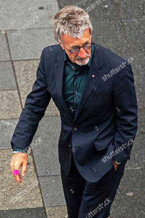 Former Irish Formula One driver Eddie Jordan attends a memorial service for Niki Lauda at Saint Stephen's Cathedral in Vienna, Austria, 29 May 2019. Austrian Formula One legend Niki Lauda died on 20 May 2019 at the age of 70. Lauda won the Formula One championship in 1975, 1977, and 1984 and founded three airlines.