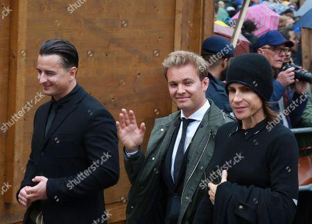 Andreas Gabalier, Nico Rosberg, Lila Schwarzenberg