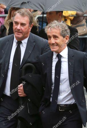 Nigel Mansell, Alain Prost