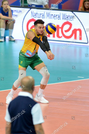Editorial photo of Poland v Australia, FIVB Volleyball Nations League match, Katowice, Poland - 31 May 2019