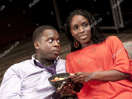 'Seize the Day' - Kobna Holdbrook-Smith (Jeremy Charles) and Sharon Duncan-Brewster (Susan)