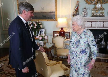 Editorial photo of Audience at Buckingham Palace, London, UK - 29 May 2019