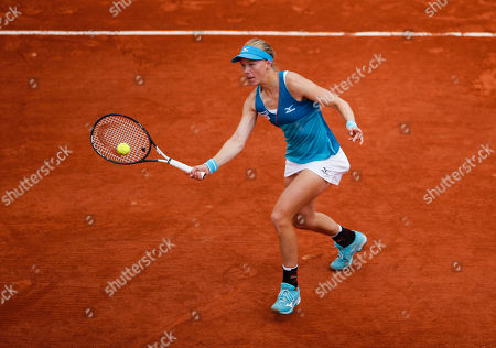Johanna Larsson of Sweden in action