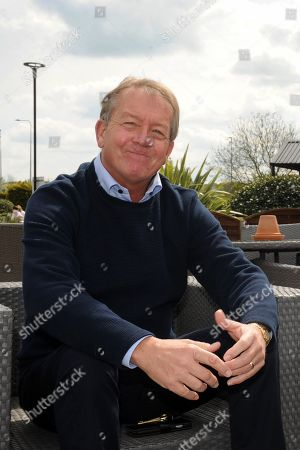 Stock Image of Alan Curbishley former Footballer and Manager of West Ham and Charlton Athletic.