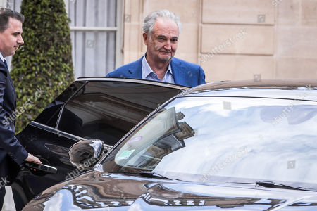 French economist and writer Jacques Attali leaves the Elysee Palace in Paris, France, 29 May 2019.