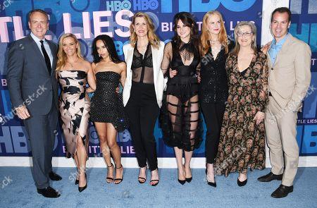 Bob Greenblatt, Reese Witherspoon, Zoe Kravitz, Laura Dern, Shailene Woodley, Meryl Streep, Nicole Kidman, Casey Bloys