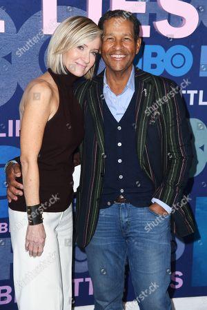 Stock Image of Hilary Gumbel and Bryant Gumbel