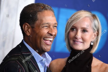 Stock Photo of Hilary Gumbel and Bryant Gumbel