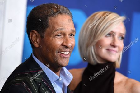 Stock Picture of Hilary Gumbel and Bryant Gumbel