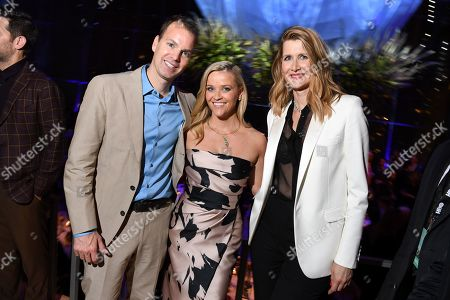 Casey Bloys, Reese Witherspoon and Laura Dern