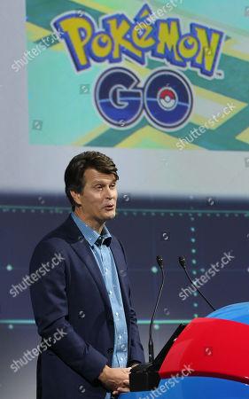 Mobile game app company Niantic CEO John Hanke speaks