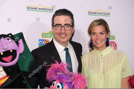 Stock Picture of John Oliver and Kate Norley