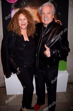 Francisca Gutierrez and Giorgio Moroder