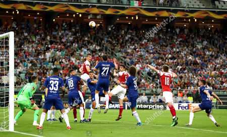 Editorial image of Chelsea v Arsenal, UEFA Europa League Final, Football, Baku Olympic Stadium, Baku, Azerbaijan - 29 May 2019