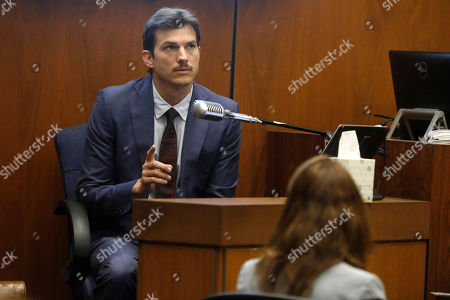 US actor Ashton Kutcher appears in court to testify during the Michael Thomas Gargiulo's trial at the Clara Shortridge Foltz Criminal Justice Center in Los Angeles, California, USA, 29 May 2019. Michael Gargiulo, also called the 'Hollywood Ripper', is charged with murder and attempted murder of young women in the L.A. area. Once the trial is over, Gargiulo will be sent back to Illinois to face murder charges for his alleged first victim.