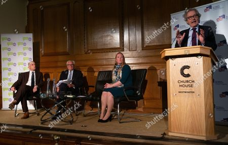 Editorial photo of Future of British Politics Speech, London, UK - 29th May 2019